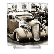 Custom 36 Dodge Shower Curtain