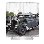 Custom Model A Coupe Shower Curtain