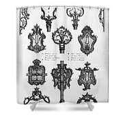 Cuvilli�s: Locks And Keys Shower Curtain