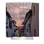 Cuzco Shower Curtain