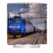 Czech Express Shower Curtain