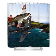 D-day 2 Shower Curtain