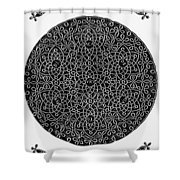 Da Vinci: Sixth Knot Shower Curtain