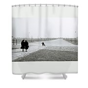 Dachau Concentration Camp Shower Curtain
