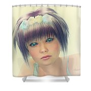 Daddy's Princess Shower Curtain