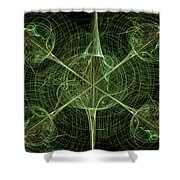 Daggers Shower Curtain