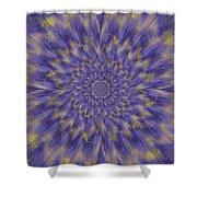 Dahlia Akita Shower Curtain