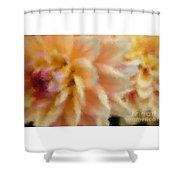 Dahlia Delight 2 Shower Curtain
