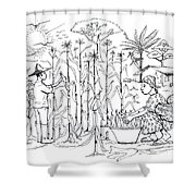 Daily Life In South And Center Cameroon 01 Shower Curtain