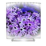 Daisy Garden Vignette Shower Curtain