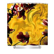 Dali Spring 3 Shower Curtain