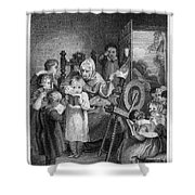Dames School, 1812 Shower Curtain
