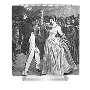 Dance, 19th Century Shower Curtain