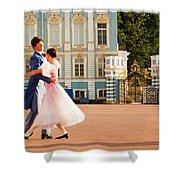 Dance At Saint Catherine Palace Shower Curtain