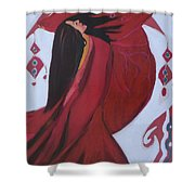 Dance In The Middle East   Shower Curtain