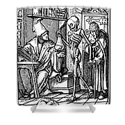 Dance Of Death, 1545 Shower Curtain