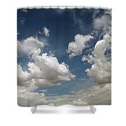 Dance Of The Clouds - Series Shower Curtain