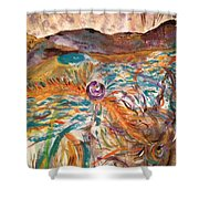 Dance Of The Elements Shower Curtain