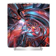Dance Of The Glassmen Fx Shower Curtain