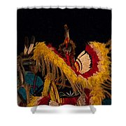 Dancing Feathers Shower Curtain