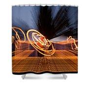 Dancing Fire Shower Curtain