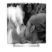 Dancing For The Ancestors Shower Curtain