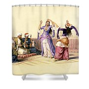 Dancing Girls At Cairo Shower Curtain