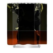 Dancing Mirrors Shower Curtain