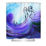 Dancing Water II Shower Curtain