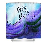 Dancing Water Vi Shower Curtain