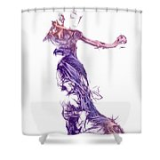 Dancing With A Stranger Shower Curtain