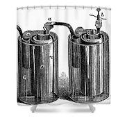 Daniell Cell, 1836 Shower Curtain