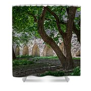 Danish King's Garden  Tallinn Shower Curtain