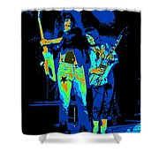 Danny And Rick Shower Curtain