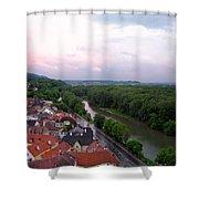 Danube Dream Shower Curtain