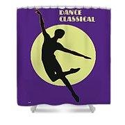 Classical Dancer Shower Curtain