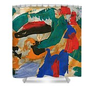 Dark Feelings Shower Curtain