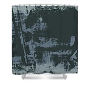 Dark Glasses Shower Curtain