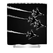 Darkbirds Shower Curtain
