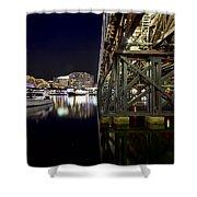 Darling Harbor At Night Shower Curtain