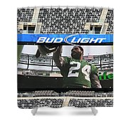 Darrelle Revis - Ny Jets Shower Curtain