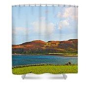 Davaar Island - Campbeltown Shower Curtain