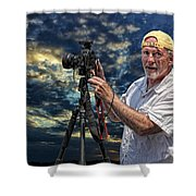 Dave Bell - Photographer Shower Curtain