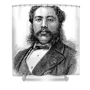 David Kalakaua (1836-1891) Shower Curtain