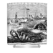 David Livingstone Shower Curtain by Granger