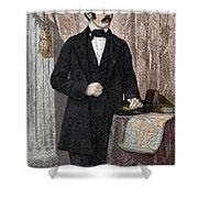 David Livingstone, Scottish Missionary Shower Curtain