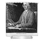 David Rittenhouse Shower Curtain