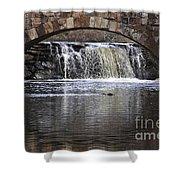 Davies Bridge Shower Curtain