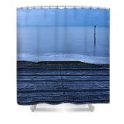 Dawn At Kingsdown Shower Curtain