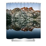 Dawn At Upper Sardine Lake Shower Curtain